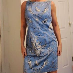Jessica Howard Angel Animal Baroque Cotton Dress